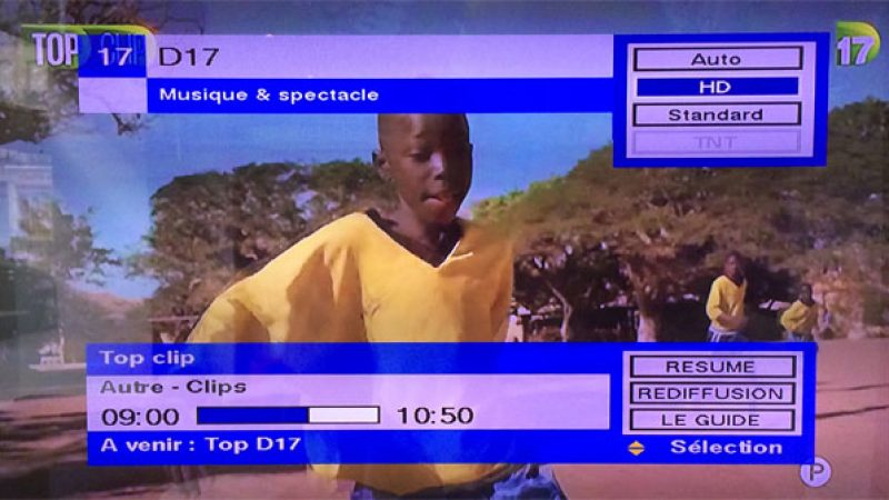 D17 est maintenant disponible en HD sur Freebox TV, mais pas sur toutes les Freebox