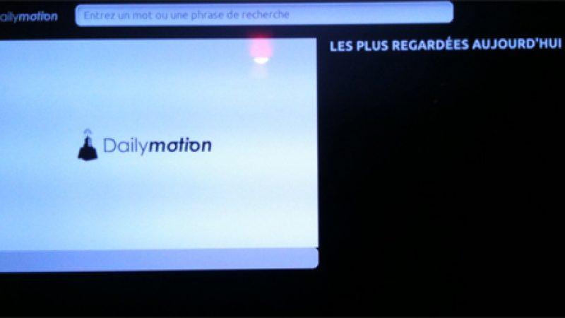 [MàJ] La panne qui touche Dailymotion impacte aussi le service du Freebox Révolution Player
