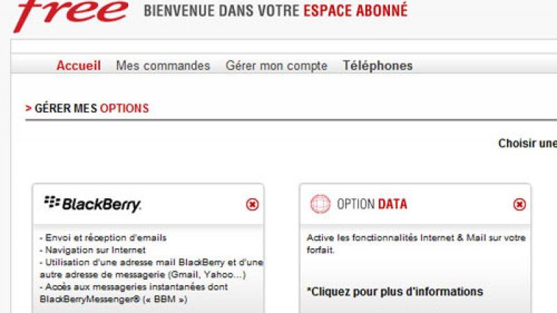 L'option data désormais activable et désactivable depuis l'espace abonné Free Mobile