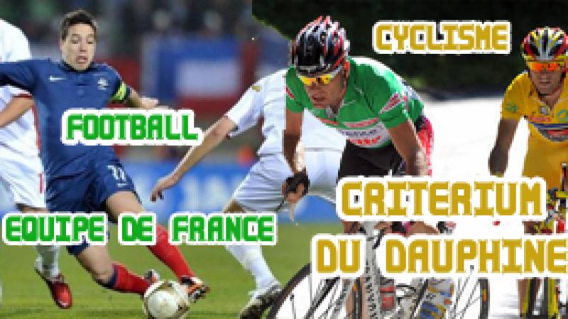 Semaine Sport (23) : Equipe de France, TOP 14, Dauphiné, Roland Garros, Moto GP…
