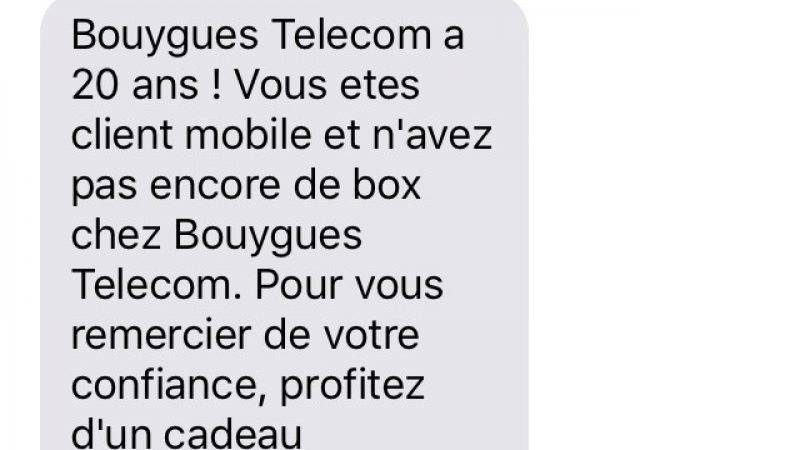 Bouygues Télécom propose la première box à 0€