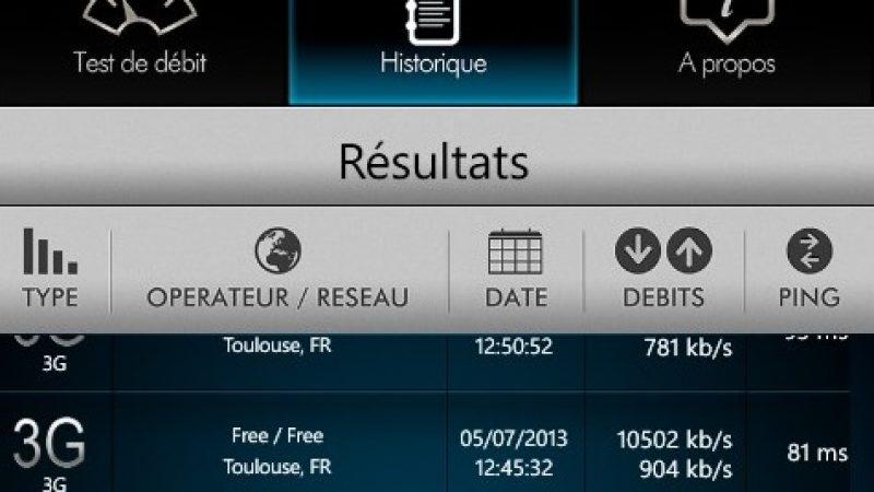 Free Mobile : des débits thèoriques loin de ceux de la concurrence