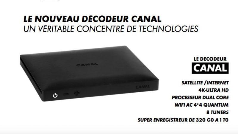Découvrez le nouveau décodeur que vient de présenter Canal+