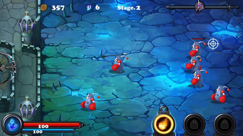Test Jeu : Défendez votre forteresse sur Freebox Mini 4K