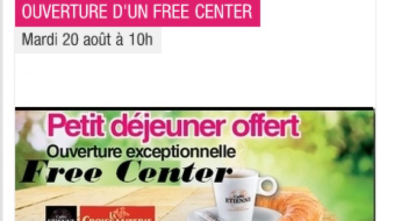 [MàJ] Deux Free Centers ouvrent leurs portes aujourd'hui : Béziers et Saint-Etienne