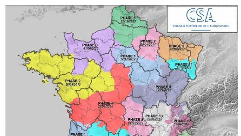 TNT : Le déploiement des 6 nouvelles chaînes HD dès aujourd'hui dans 4 régions