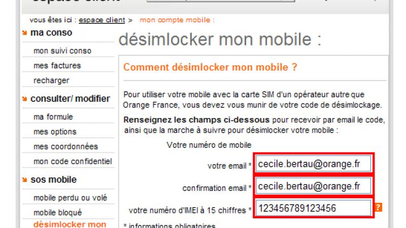 Desimlockez votre mobile avant l'arrivée de Free Mobile