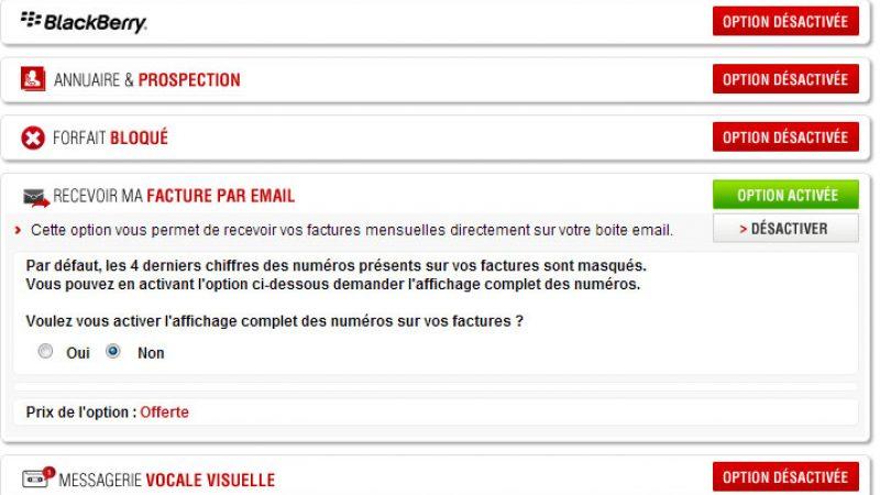 Free Mobile : Petite évolution concernant l'envoi des factures par mail