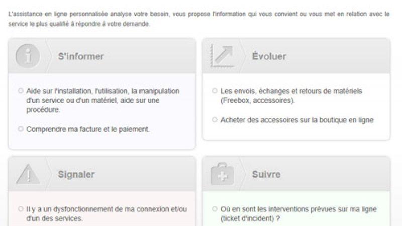 Assistance Free : Nouveau système de diagnostic pour la Freebox
