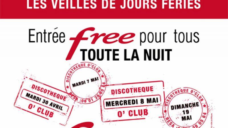 Clin d'oeil : A Toulouse, Free, c'est jusqu'au bout de la nuit