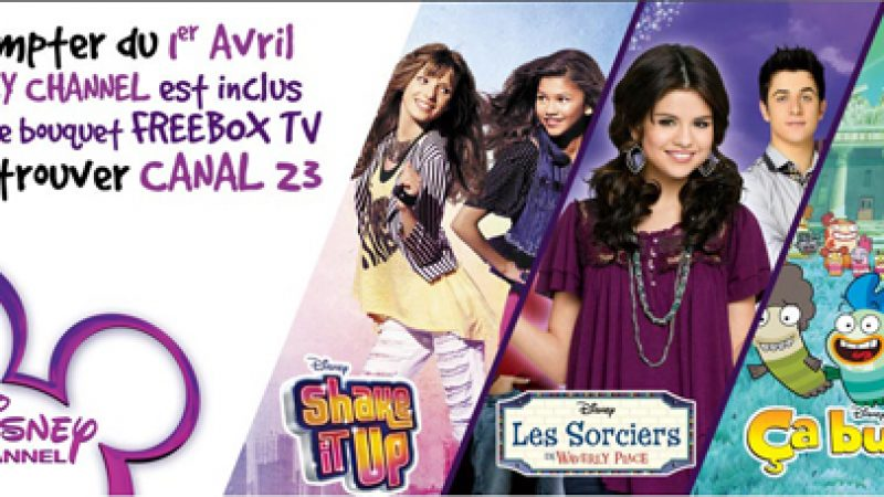 Free : Concours Disney Channel