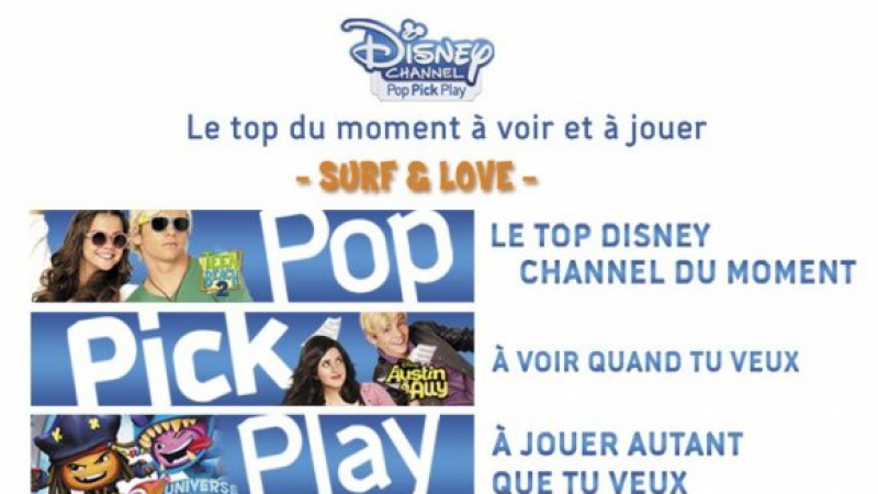 Après Orange, SFR lance le service Disney Pop Pick Play. A quand chez Free ?