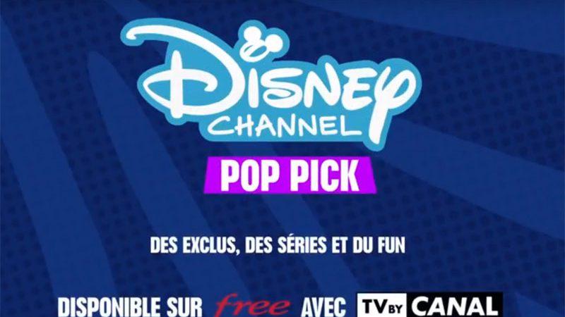 """Freebox Révolution avec TV by Canal : Lancement d'une nouvelle thématique """"surprise""""  sur  Disney Channel Pop Pick Play"""