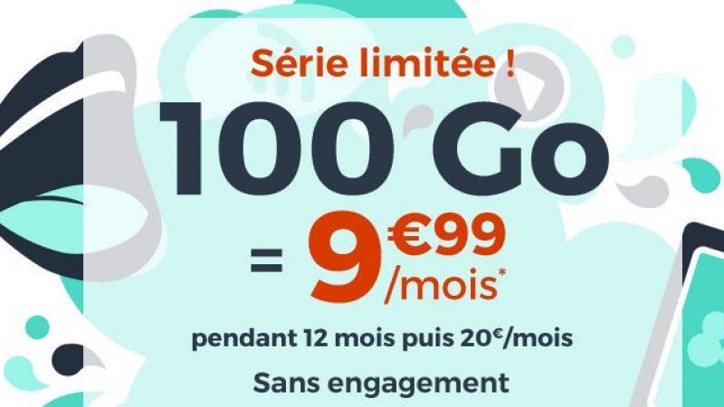 """Cdiscount Mobile propose une nouvelle offre """"immanquable"""" avec 100 Go pour 9.99€ par mois"""