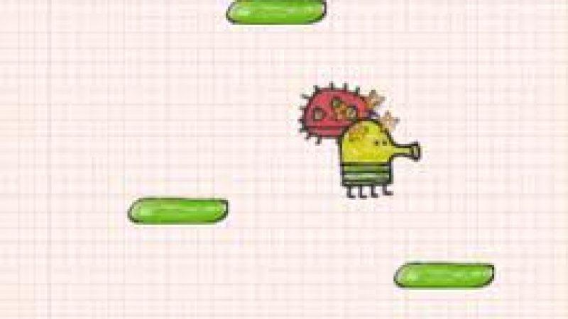 Doodle Jump disponible sur la Freebox HD