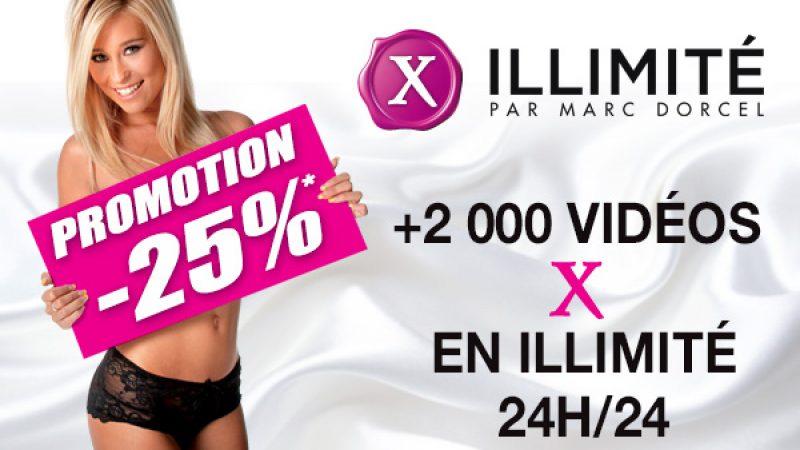 """Freebox TV :  25% de réduction sur l'abonnement """"X Illimité de Marc Dorcel"""""""