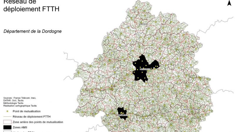La Dordogne fibrée entre 2015 et 2020