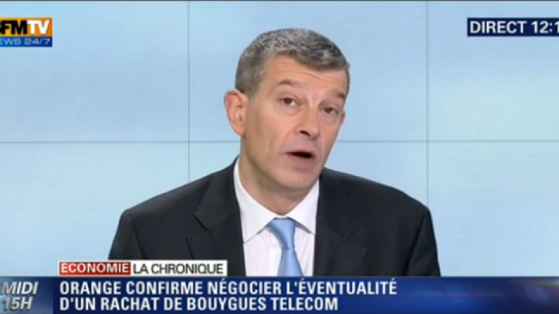 Pour Nicolas Doze, Orange sera le grand gagnant face à Free et SFR-Numericable