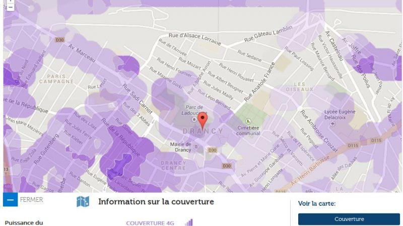 Couverture et débit 4G Free Mobile : Focus sur Drancy