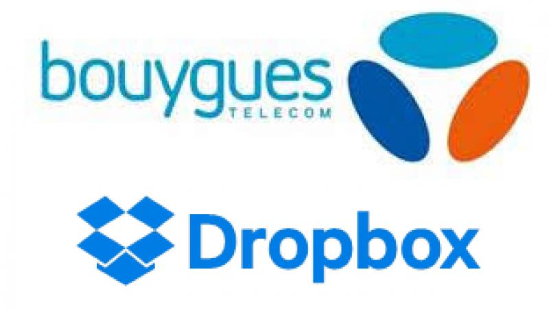 Les abonnés fixes et mobiles de Bouygues Télécom vont bénéficier d'espace supplémentaire sur Dropbox
