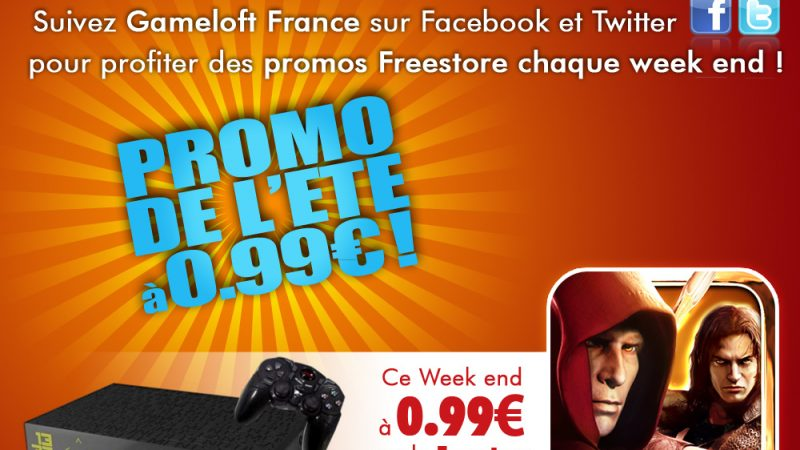 Gameloft : Dungeon Hunter 2 à 0,99€