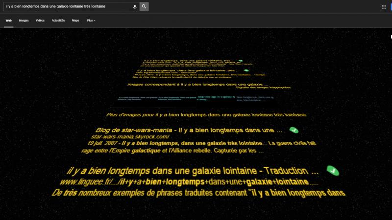 Clin d'oeil : découvrez le nouvel easter egg Star Wars caché dans Google