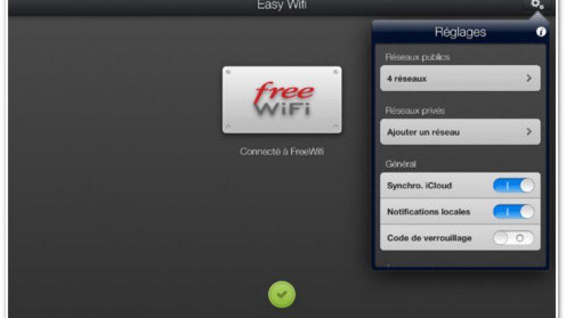 Une nouvelle version d'Easy WiFi est disponible