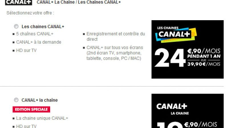 """Canal+ lance une """"édition spéciale"""" intégrant une seule chaîne"""