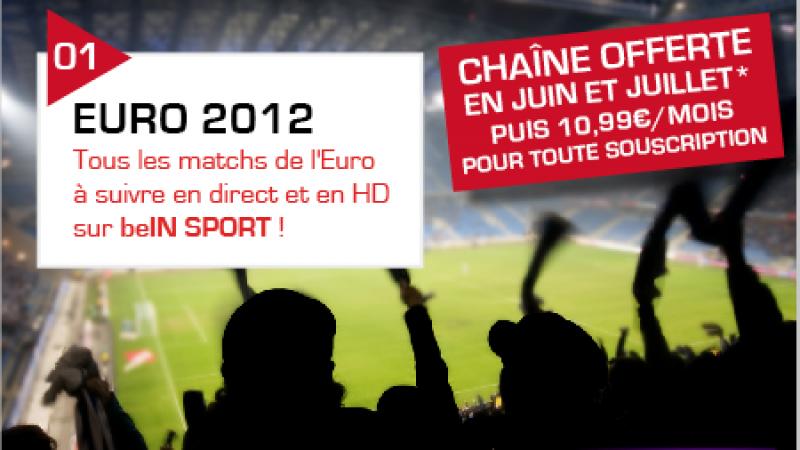 Rappel/Freebox TV : 100% des matches de l'Euro 2012 accessibles gratuitement