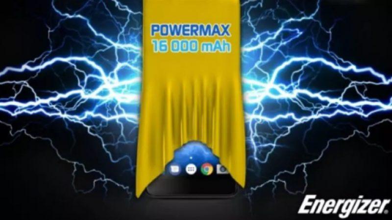 Energizer présentera son smartphone doté d'une batterie de 16 000 mAh lors du MWC 2018