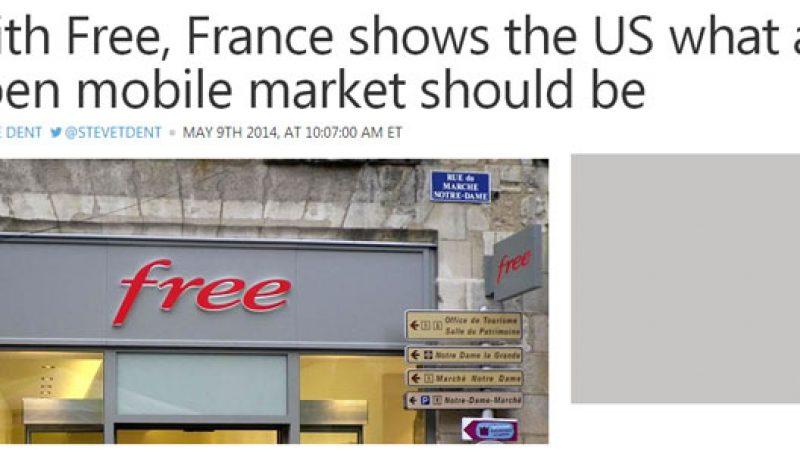 Un site américain estime que la France donne une leçon aux Etats Unis grâce à Free Mobile