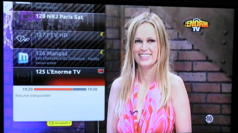 L'Enôrme TV est disponible sur la Freebox !