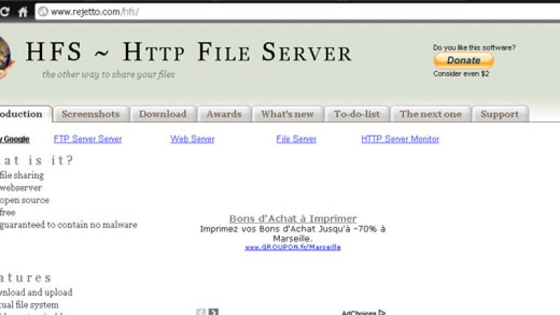 Comment envoyer des fichiers sur le disque dur de sa Freebox Revolution à distance ?