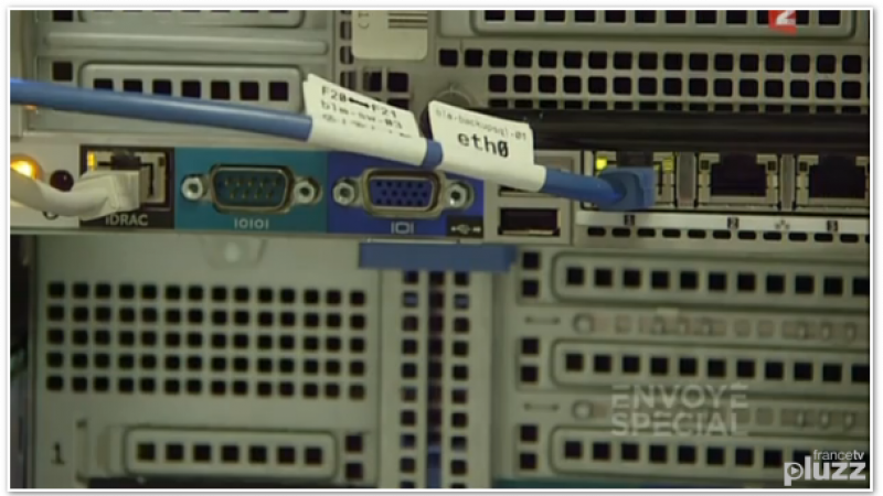 Online : Reportage de l'émission « Envoyé Spécial » sur le Cloud à DC3