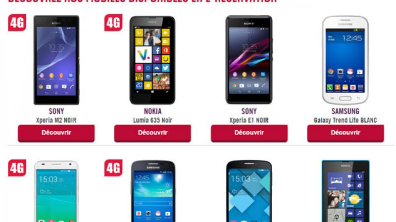 Virgin Mobile lance son service d'e-réservation de Smartphones