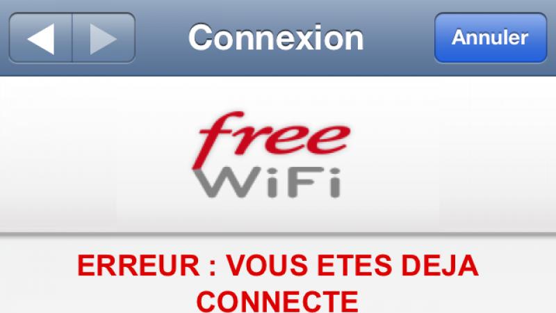 Free limite maintenant l'usage de Free Wifi à une seule connexion