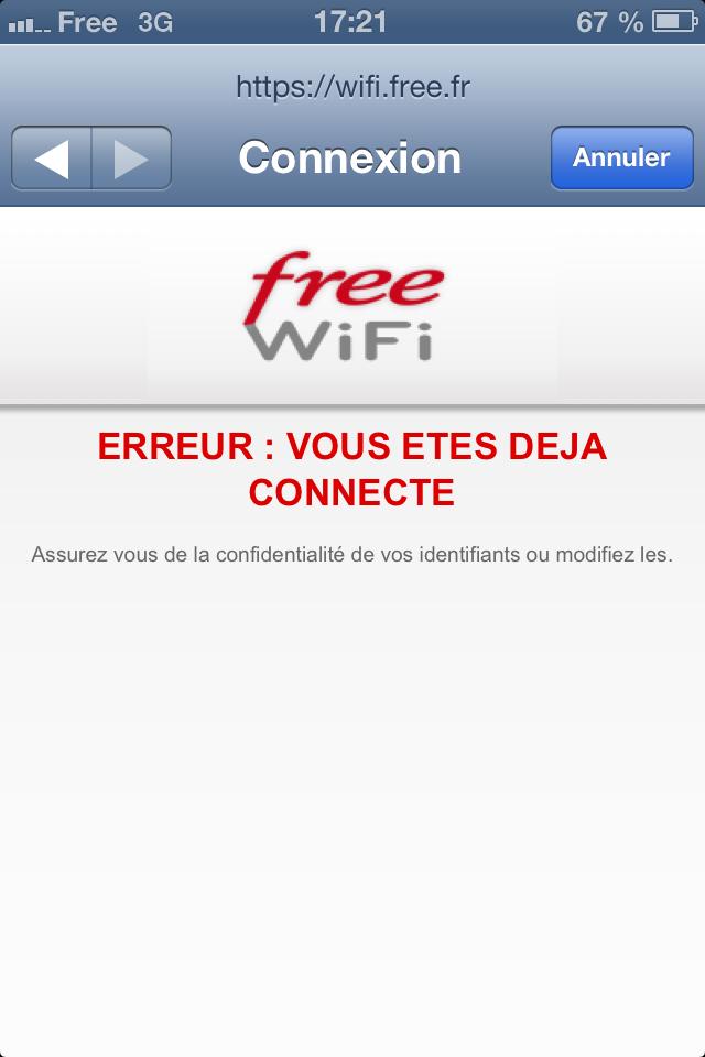 comment faire pour se connecter a free wifi public