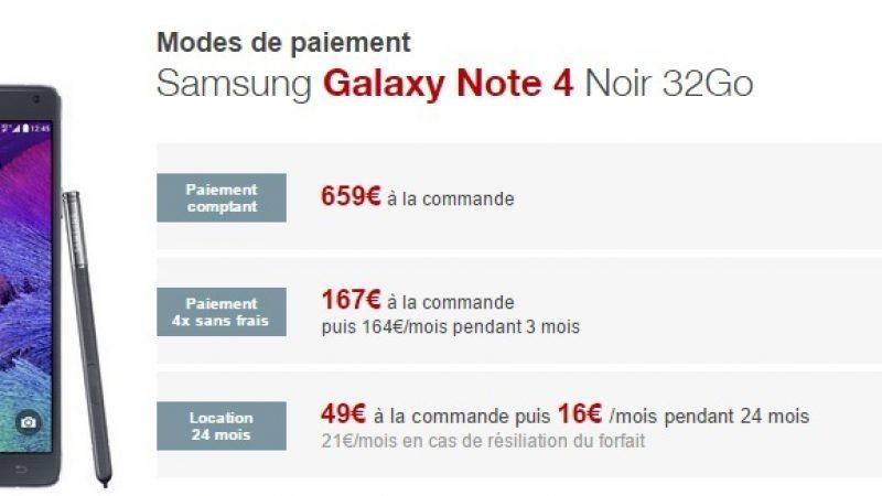 Boutique Free Mobile : baisse de prix chez Samsung, et départ de LG