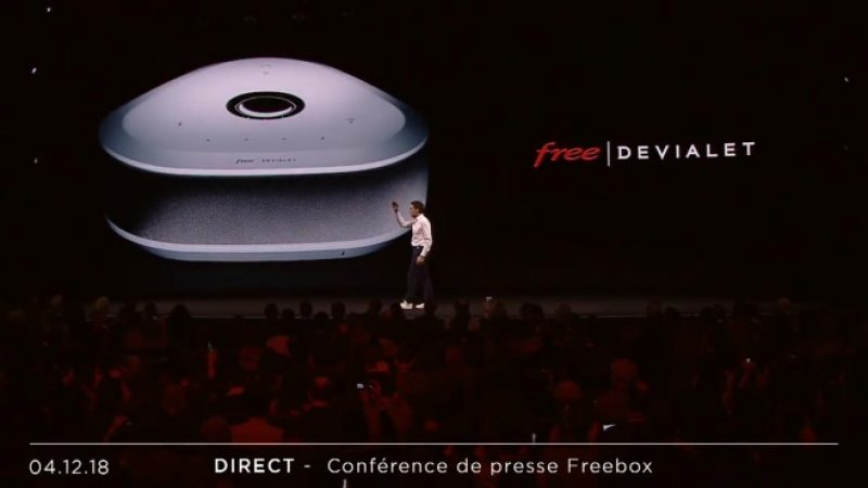 La Freebox V7 dispose d'un NAS offert de 1 To