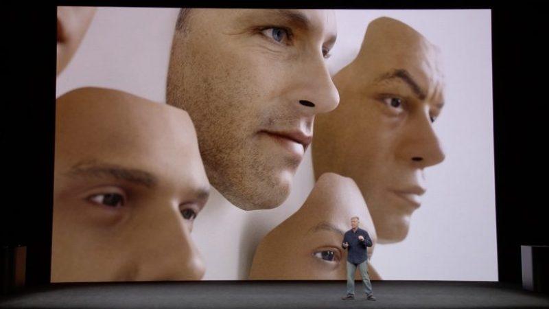 iPhone X : Face ID, berné par le masque d'un demi visage, déverrouille le terminal