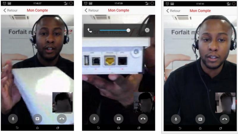 Free lance Face to Free, son service d'assistance par webcam, sur iPhone et iPad