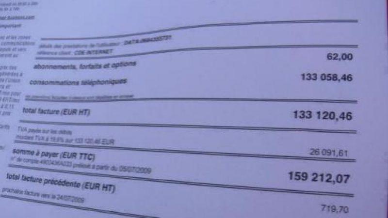 3G : Une facture de 159 212 euros pour un abonné Orange