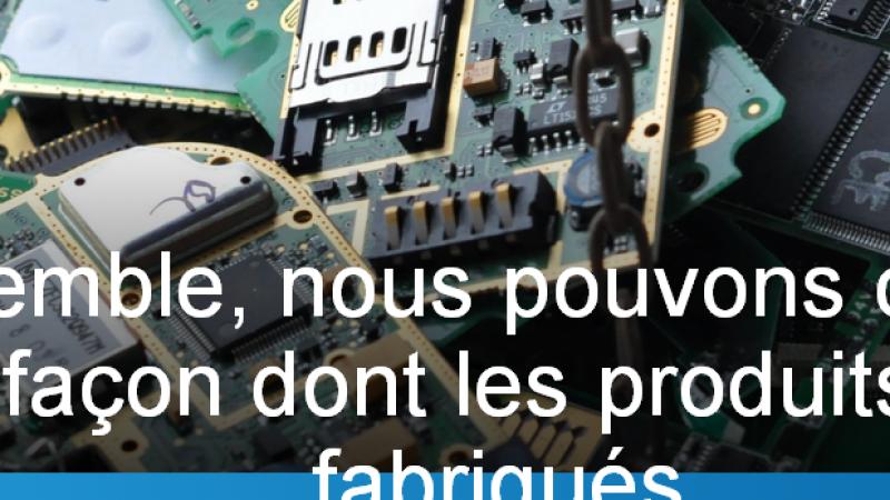 """Le Fairphone, le """"smartphone équitable"""" trouve son public"""