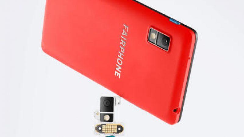 De nouveaux modules caméra pour le Fairphone 2, le smartphone modulaire