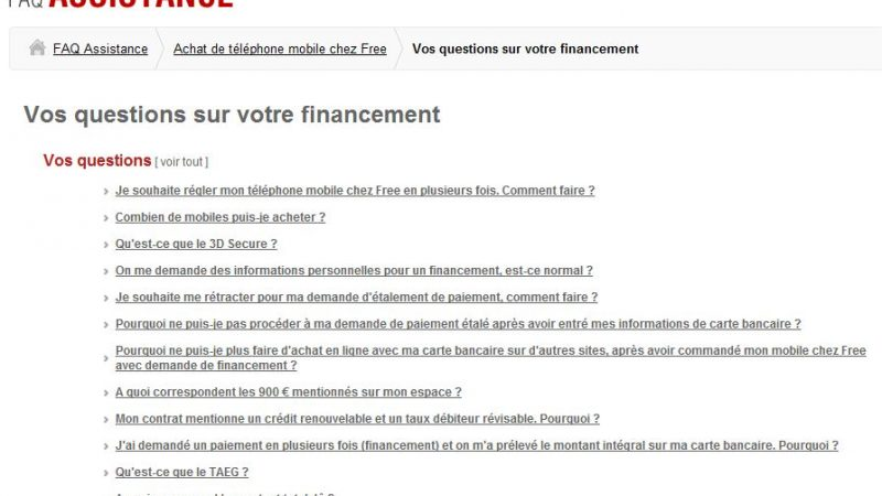 free mobile appel tombe sur messagerie