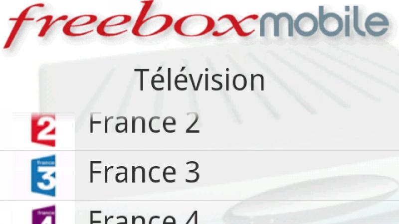 Freebox Mobile pour Android : arrivée de Freebox TV