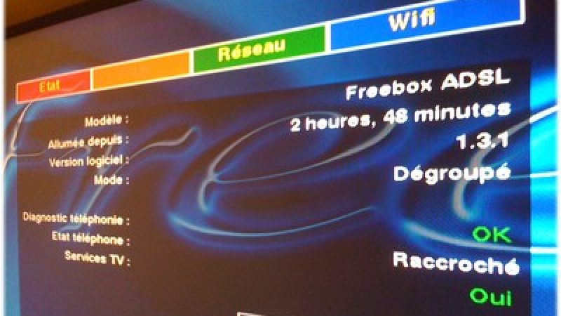Nouveau firmware Freebox Adsl (v5)