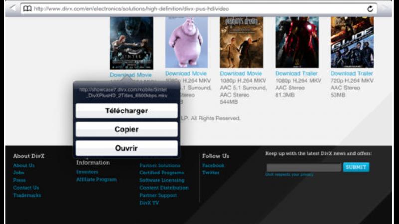 L'application « Freebox DownLoader » a été mise à jour
