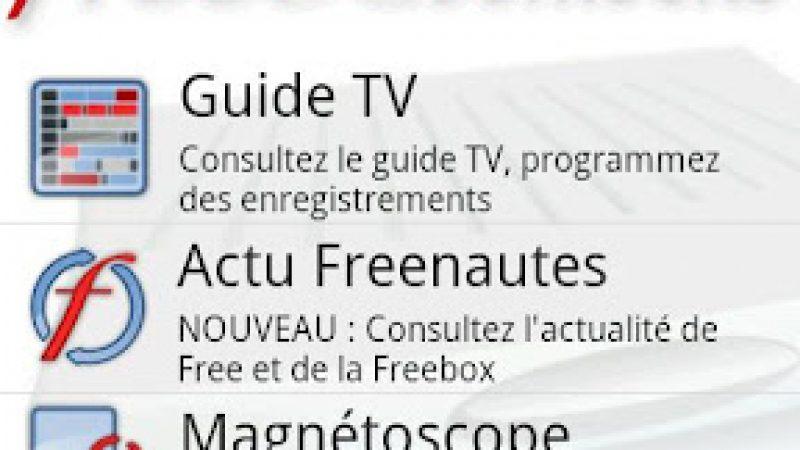 L'application Freebox Mobile ajoute plusieurs nouveautés