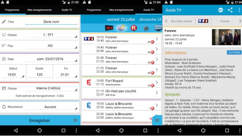 Programmation à distance de la Freebox : Freebox Recorder s'améliore